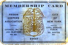 Prison Keepers Association, City of New York