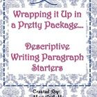 Free!  Watch what amazing writing your students do with these simple paragraph starters!My students love these!Enjoy!Shari ...