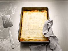 german design studio korefe has created the 'the real cookbook', an edible instruction manual for making a classic lasagna.