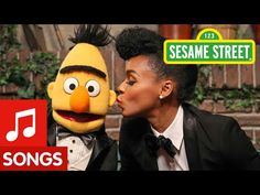 """Bert can't sing the right notes. Cookie Monster can't bake the right cookies. Elmo can't do math. That is, until a tuxedo-clad Janelle Monáe arrives on Sesame Street to teach them """"The Power of Yet."""""""