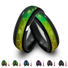 Heartbeat Mood Rings (Changing Colors)