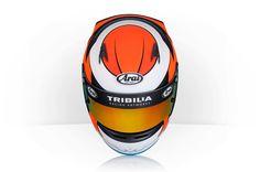 Racing Helmets Garage: Arai SK-5 M.Budovsky 2013 by Tribilia Design