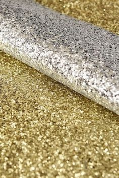 Gold sparkle glitter sheets with vinyl backing $37m x 137cm