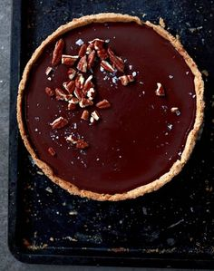 Espresso and pecan truffle tart & other Bill Granger Sunday lunch recipes                                                                                                                                                                                 More