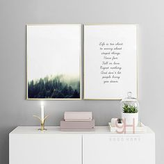 Canvas Art Print Poster Pintura Del Paisaje forestal, Estilo nórdico Pared Cuadros para la Decoración Del Hogar, Decoración de la pared BW004 en Pintura y Caligrafía de Hogar y Jardín en AliExpress.com   Alibaba Group