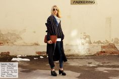 spring outfit Sweater – Monki // Jeans – Gina Tricot // Coat – Rodebjer // Scarf & Bag- Second Hand // Sunglasses – Ray-Ban // Shoes – Romwe