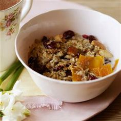 Rachel Allen Home-made granola Healthy Eats, Healthy Recipes, Rachel Allen, Roasting Tins, Natural Yogurt, Delicious Magazine, British Isles, Tray Bakes, Granola