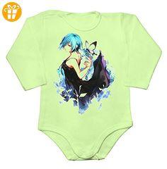 Kirishima Touka Baby Long Sleeve Romper Bodysuit Extra Large - Baby bodys baby einteiler baby stampler (*Partner-Link)