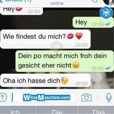 Lustige WhatsApp Bilder und Chat Fails 186 - Wie findest du mich?