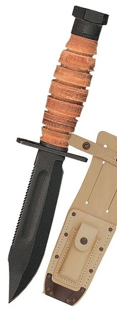Ontario Fixed Parkerized Blade Air Force Survival Knife Sharpening Stone Pouch Survival Tools, Wilderness Survival, Survival Knife, Survival Stuff, Airsoft, Ontario Knife, Military Knives, Knife Sheath, Fixed Blade Knife