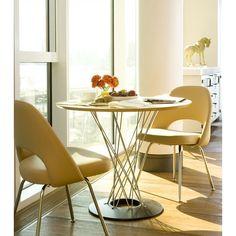 for breakfast nook Knoll ® Saarinen 3 Piece Dining Set