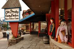 Ole Smoky Candy Kitchen in Gatlinburg. Home of Delicious Candies!