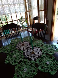 Rugs, Home Decor, Crochet Doilies, Farmhouse Rugs, Decoration Home, Room Decor, Home Interior Design, Rug, Home Decoration