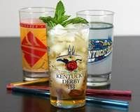 The Mint Julep, traditionally served during Kentucky Derby time.