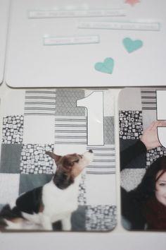 2015 Januar PL Kit - Scrapbook Werkstatt - Deckblatt - Project Life von Katja Müller