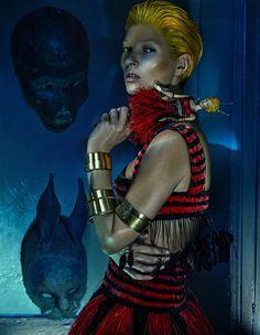 Kate Moss by Steven Klein for Alexander McQueen Spring Summer 2014