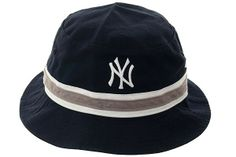 78b379428df39 Striped New York Yankees Bucket Hat by 47 Brand