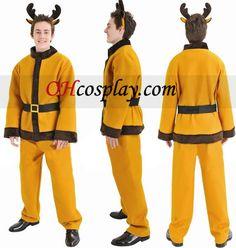 Christmas Reindeer Suit Cosplay Costume