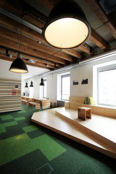 Etnetera's new headquarters in Prague