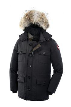 Canada Goose Parka Banff Homme Graphite373