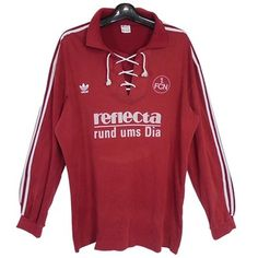 1. FC Nuremberg 90 / 91 (H) adidas long sleeve uniform clothes /