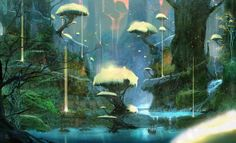 The planes of Telara from Rift 36 Beautiful Landscapes That Prove That Video Games Are Art