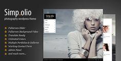 Simpolio - Fullscreen Photography WordPress Theme . Simpolio - Fullscreen Photography WordPress Theme