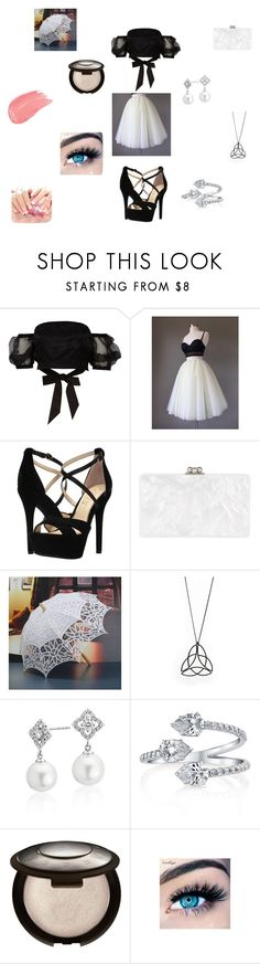 """""""sexy lady"""" by kate-desoto13 on Polyvore featuring River Island, Jessica Simpson, Edie Parker, Blue Nile and MINX"""
