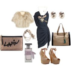 All by LANVIN.........Fancy Dinner Outfit