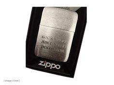 Buy Zippo Replica 1941 Brushed Chrome at price of £42.00 at wegetpersonal.co.uk. You can choose your own engraving for the back side!. Visit We Get Personal to order your lighter today. Source: http://www.wegetpersonal.co.uk/zippo-1941-replica-brushed-chrome.html