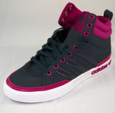 Adidas Top Court W Shale/Pink Athletic Shoes Women's (6.5-10)
