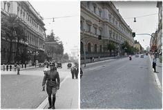 Ufficiale Tedesco in Via Nazionale Roma 1943