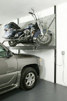 1st Choice Garage outfitters - Motorcycle lift