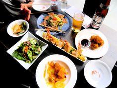 Vancouver, B. Salmon Yukki, Kimchi Udon and so much more! Kimchi, British Columbia, Vancouver, Salmon, Restaurants, Japanese, Awesome, Ethnic Recipes, Travel