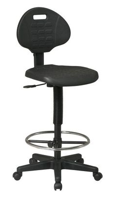 Office Star Intermediate Drafting Chair with Adjustable Footrest KH550