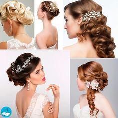 Idéias de penteados para noivas