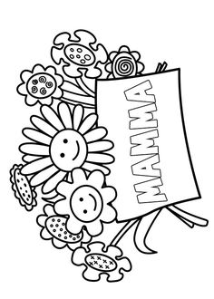 40 Disegni per la Festa della Mamma da Colorare | PianetaBambini.it 8 Martie, Coloring Pages, Blog, Painting On Fabric, Pencil Drawings, Activities, Spring, Mother's Day, Quote Coloring Pages