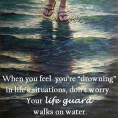Jesus is here with us, walking every step of the way with us...guiding us in everything when we lay it all down at His feet. You alone Lord can heal our land...show me how to walk in your love  share you with others  stand firm for you. Let others see you  not me Father...