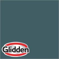 Glidden Premium 8-oz. #HDGB39D Mallard Trek Turquoise Satin Interior Paint Sample