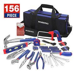 Workpro 119-Pièce Outil Set Home Tool Kit Cr-V Haute Qualité Bricolage Outils en 4-couche