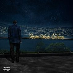 Gece Manzara - Photoshop  Yapım: ahmedkuroglu