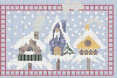Stickeules Freebies: Winter. Also many other free patterns.