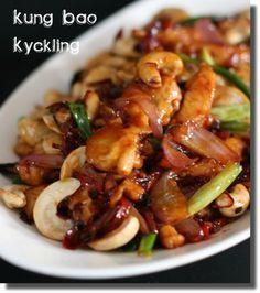Jag fortsätter att fresta med härliga thai-mat. Vad sägs om kyckling med cashewnötter med den godaste såsen ni någonsin smakat? Det vattnas i munnen bara jag tänker på denna maträtt som heter Kung Bao Kyckling. Gong Bao Sås 10 torkade chilin, utan kärnor, finhackade 5 finhackade vitlöksklyftor 2 msk chilisås 2 msk oystersås 3 msk […]