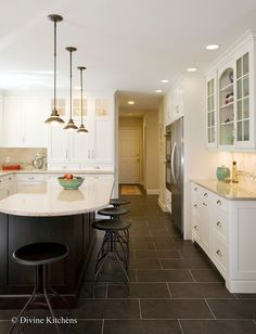 Kitchen Photos Dark Tile Floor Design, Pictures, Remodel, Decor And Ideas    Page