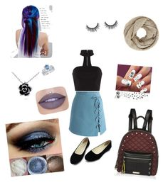 """""""Untitled #4"""" by megankidder on Polyvore featuring Chicwish, John Lewis, Disney, Jeffree Star, Manic Panic NYC and River Island"""