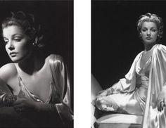 """Την χρυσή εποχή του Χόλιγουντ ο φωτογράφος πορτρετίστας George Hurrell που την περίοδο του μεσοπολέμου απαθανάτισε τους μεγάλους σταρ του σινεμά σ ασπρόμαυρες εικόνες, με ειδική τεχνική επεξεργασία του αρνητικού του φιλμ. Στο βιβλίο """"Hurrell"""""""