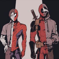 Can anyone explain the Deadpool, Peter Parker, Spiderman (romance) thing?