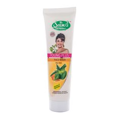 YOUNG PLUS FACE WASH (Dry Skin), 100 ml.  CLEANS all the IMPURITIES of the face and RETAINS the natural Moisture of the Skin..@Rs.145