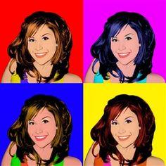 Personalize Pop Art Portraits www.mydavinvi.com $64.85