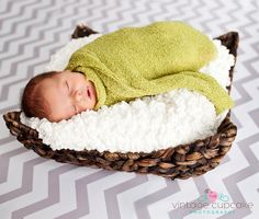 Chevron syle newborn boy photo